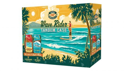 Kona Brewing Company Relaunches Wave Rider Tandem Case