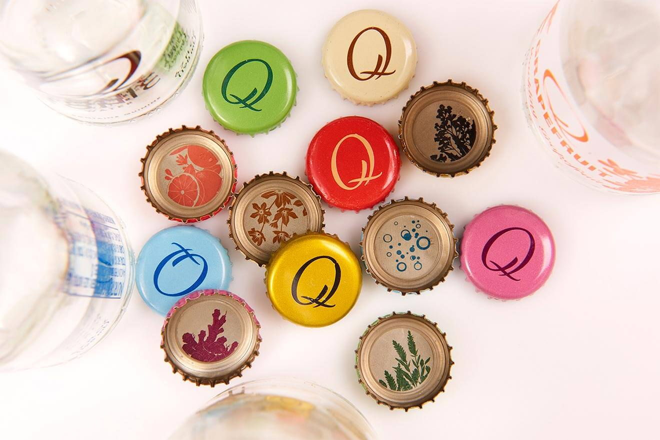 Q Drinks Bottle Caps