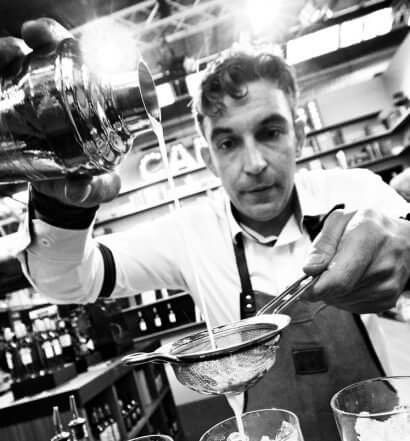 Bar Convent Brooklyn, mixologist black and white, featured image