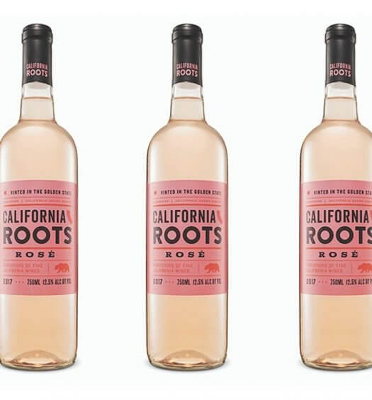 California Roots Rosé, bottles on white, featured image
