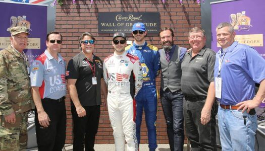 Crown Royal and Andretti Autosport Invite You to Crown Your Military Heroes