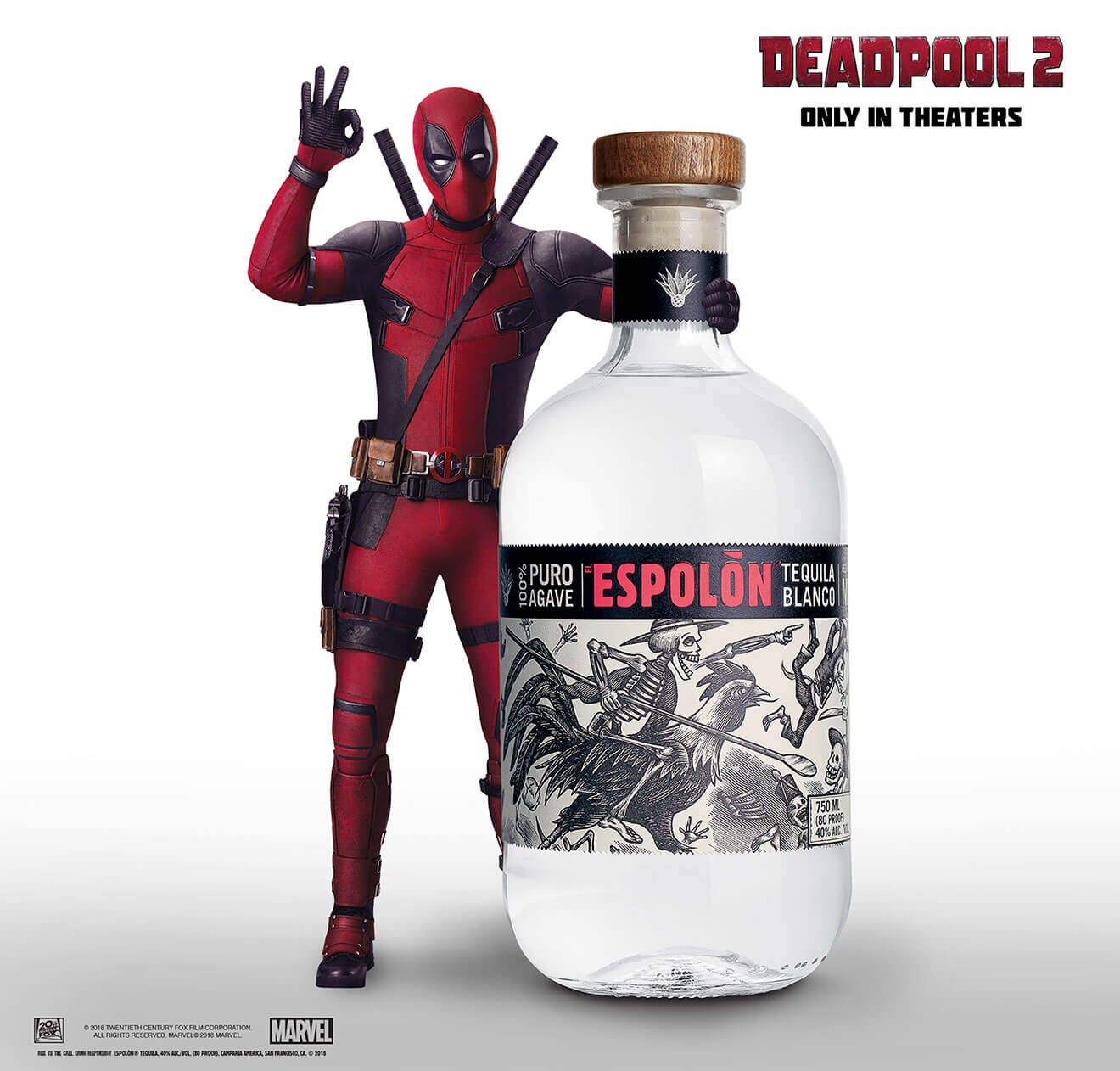 Deadpool is the New Creative Director for Espolòn Tequila
