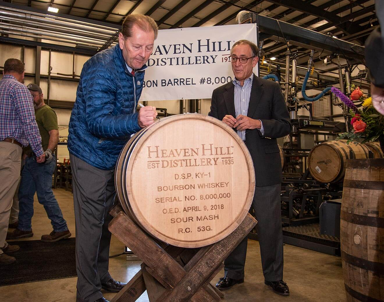 Heaven Hill Distillery Fills Eight Millionth Barrel