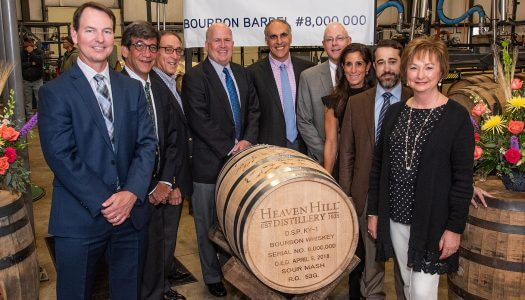 Heaven Hill Distillery Fills Eight Millionth Barrel of Kentucky Straight Bourbon Whiskey