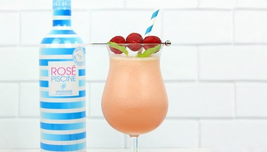 Easy to Mix: Lychee Frosé Piscine