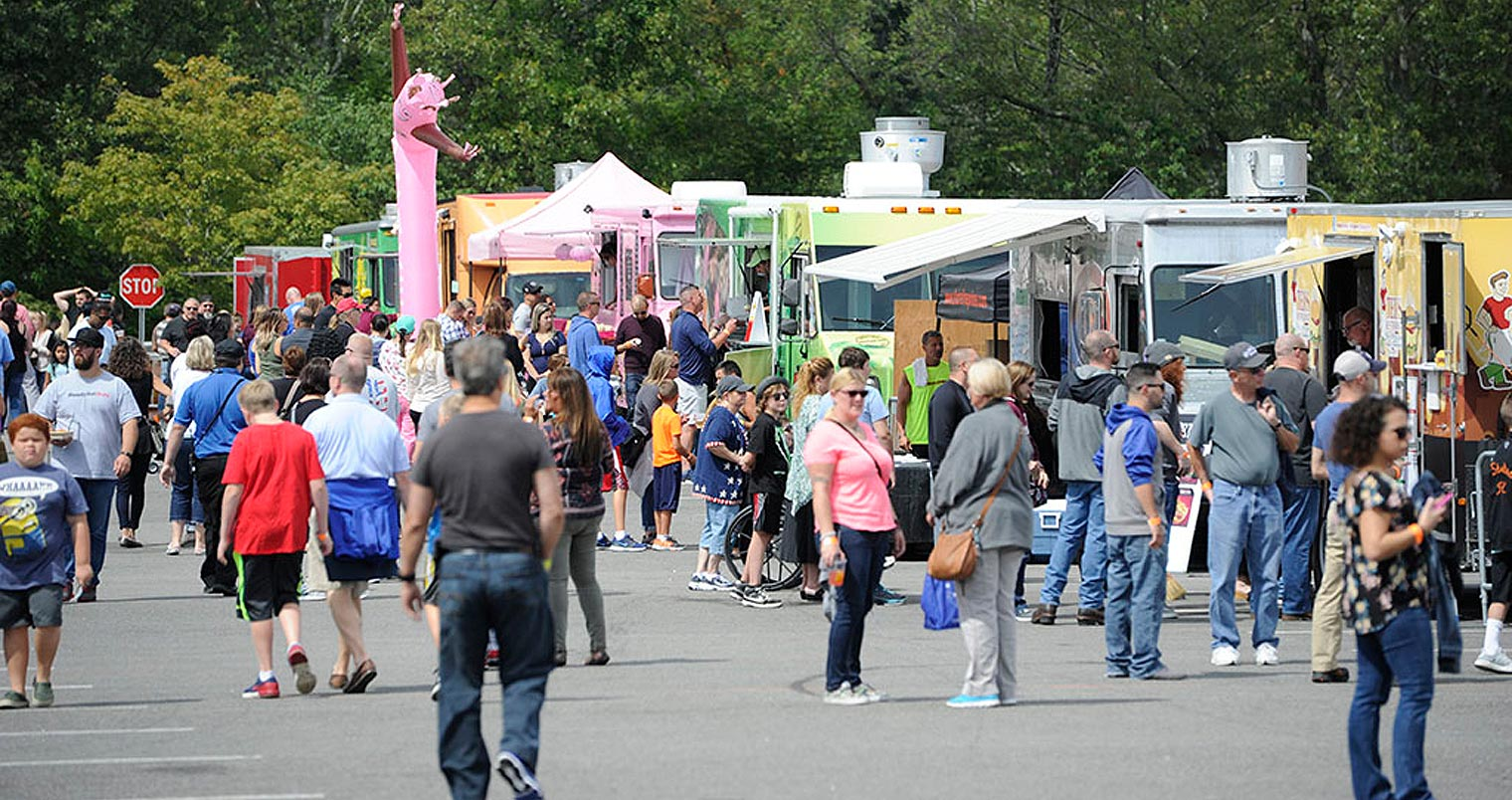 3rd Annual New England Food Truck Festival At Mohegan Sun Chilled