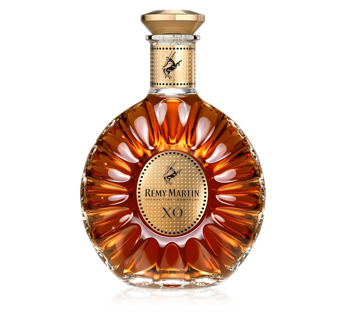 Rémy Martin XO Cannes Limited Edition, bottle on white