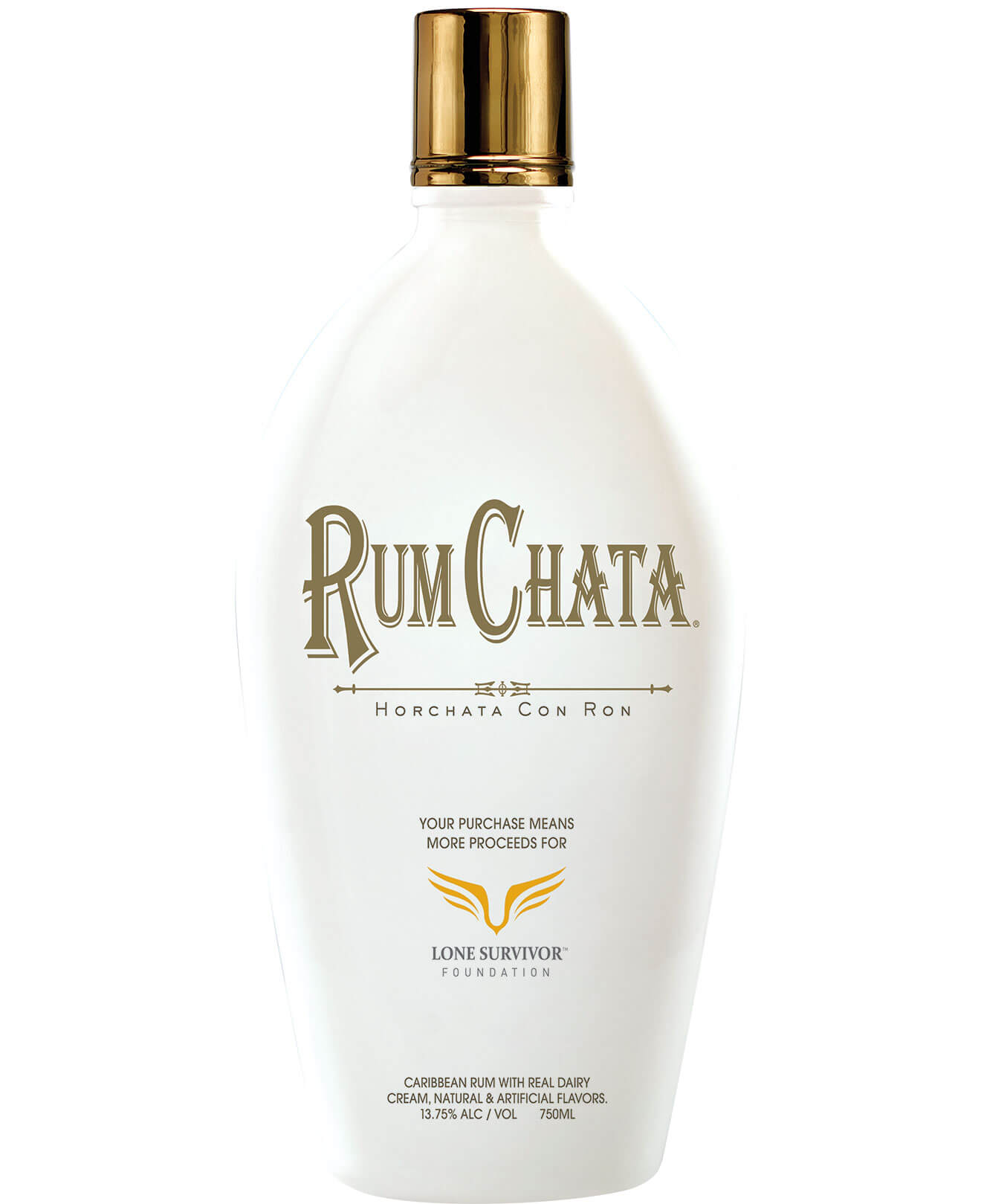 RumChata Freedom Bottle 2018 bottle on white