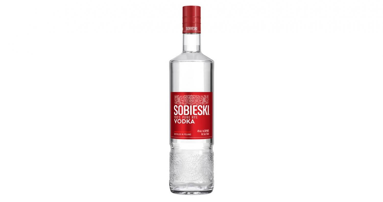 Sobieski Vodka Launches New Bottle Design, featured image