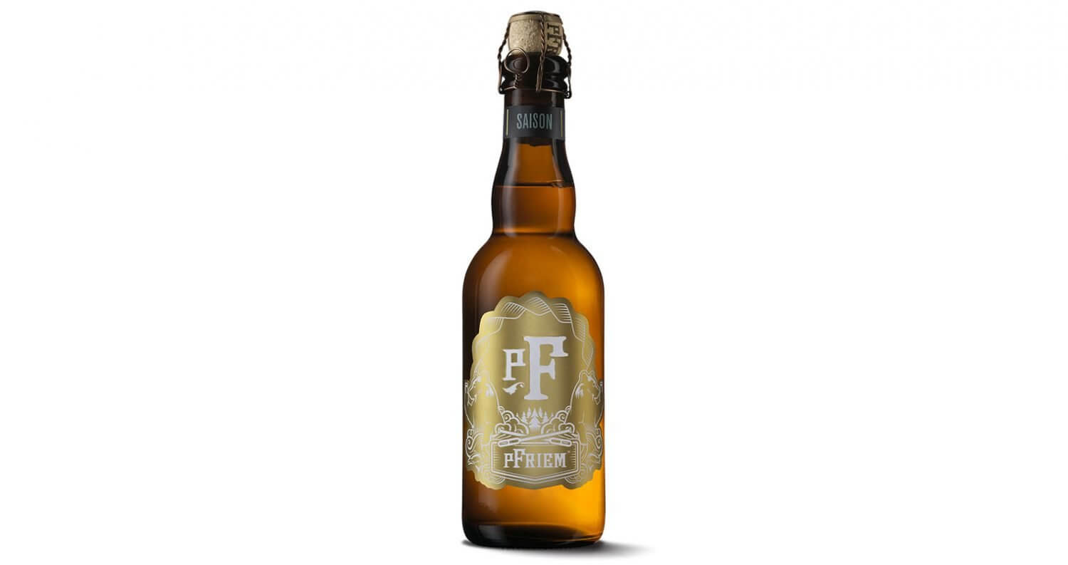 pFriem Family Brewers Saison, bottle on white, featured image