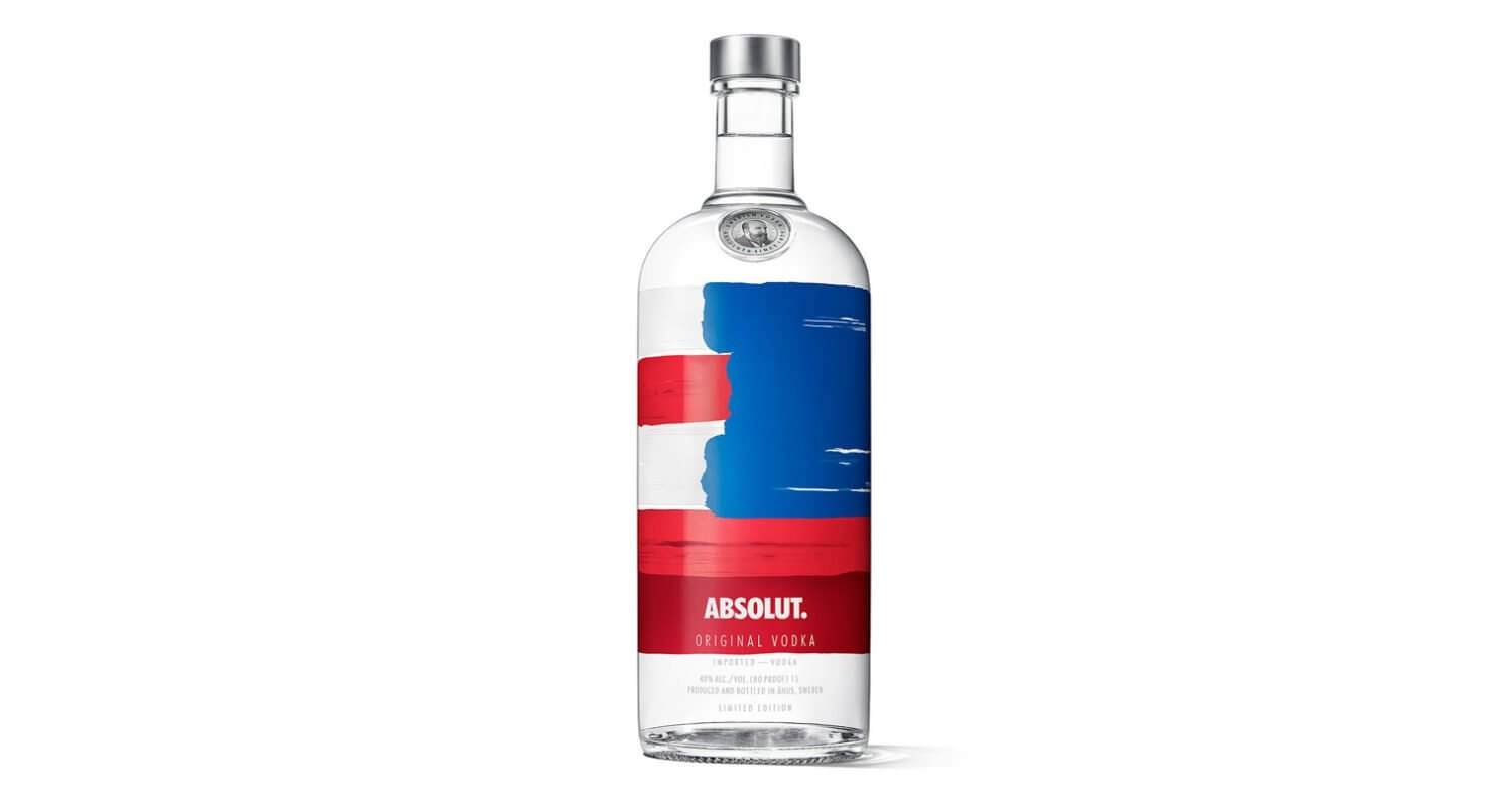 Absolut America Bottle, bottle on white featured image