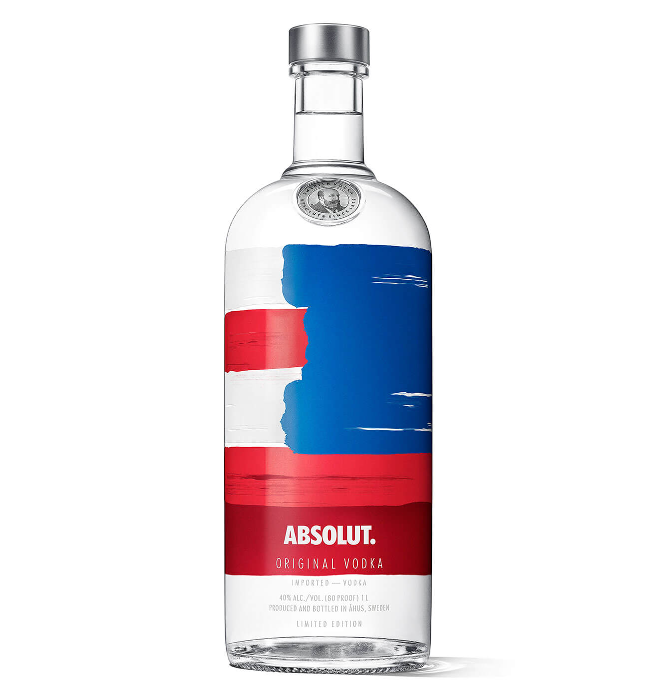 Absolut America Bottle