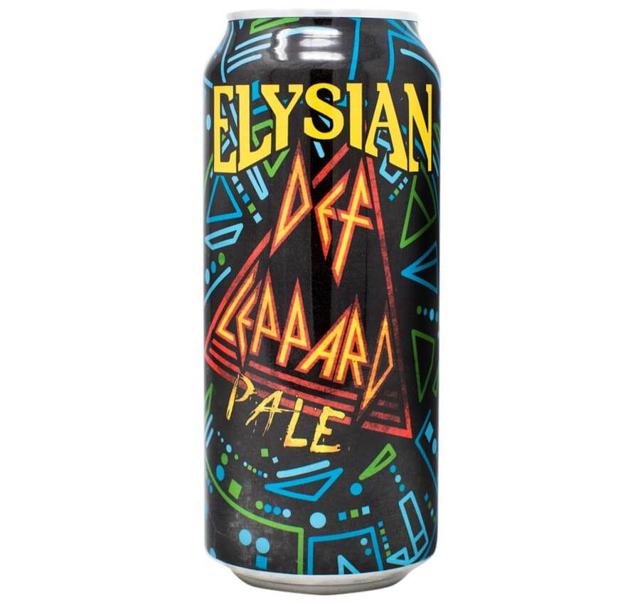 Def Leppard Pale, can on white