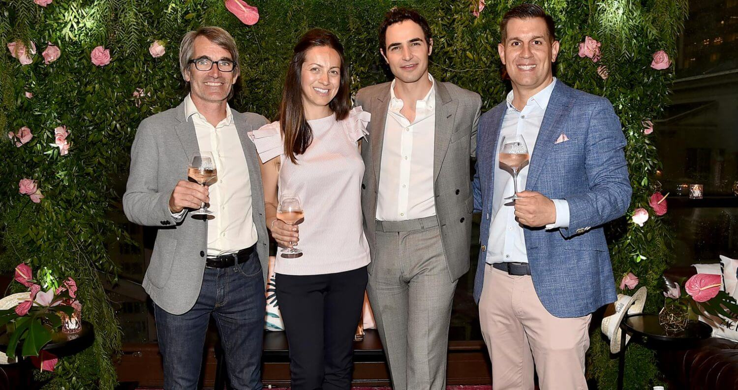 Event Recap: Designer Zac Posen Partners with Vievité Côtes De Provence Rosé, featured image