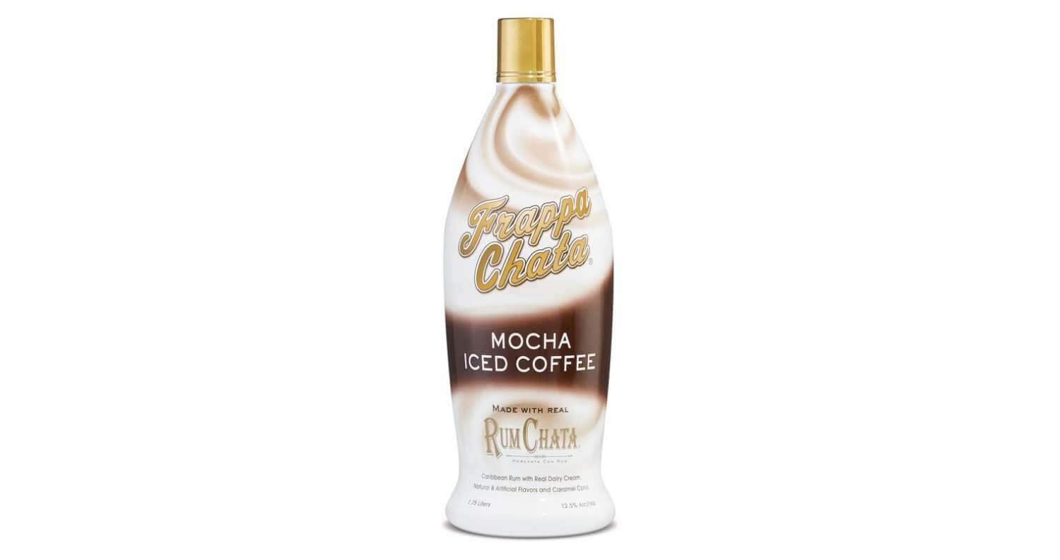 FrappaChata Iced Coffee Mocha Flavor, bottle on white, featured image