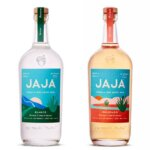 JAJA Premium Tequila, bottles on white, featured image