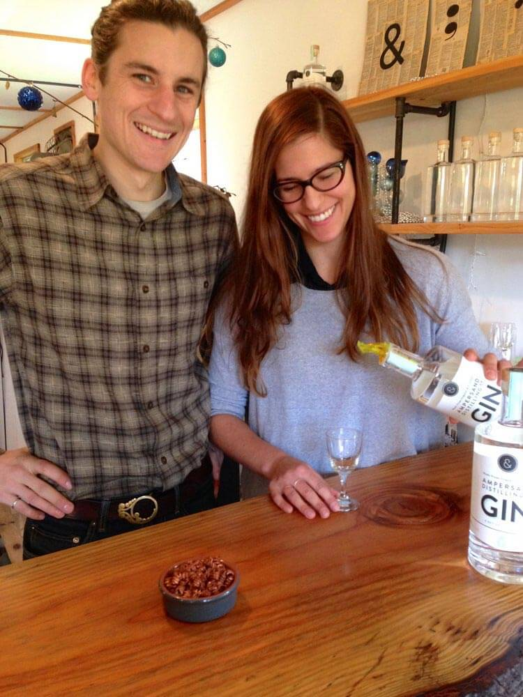Jessica & Jeremy at Ampersand Distillery