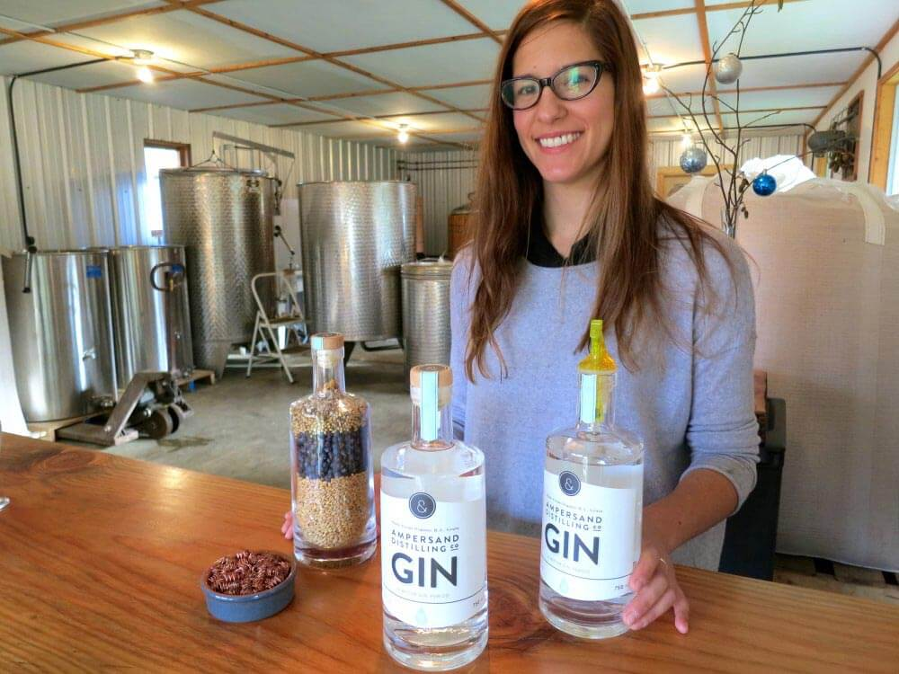 Jessica McLeod at Ampersand Distilling