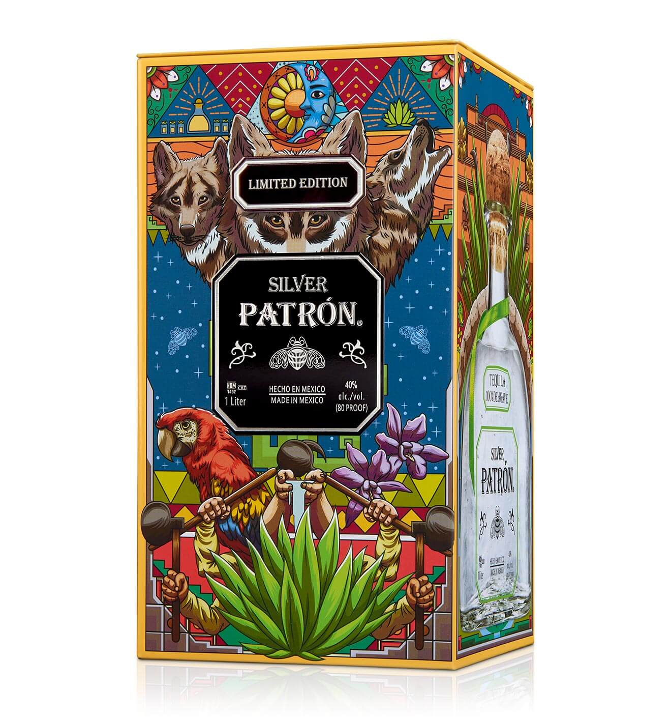 patron tequila 2018 mexican heritage tin