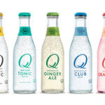 Q Drinks lineup, bottles on white, featured image
