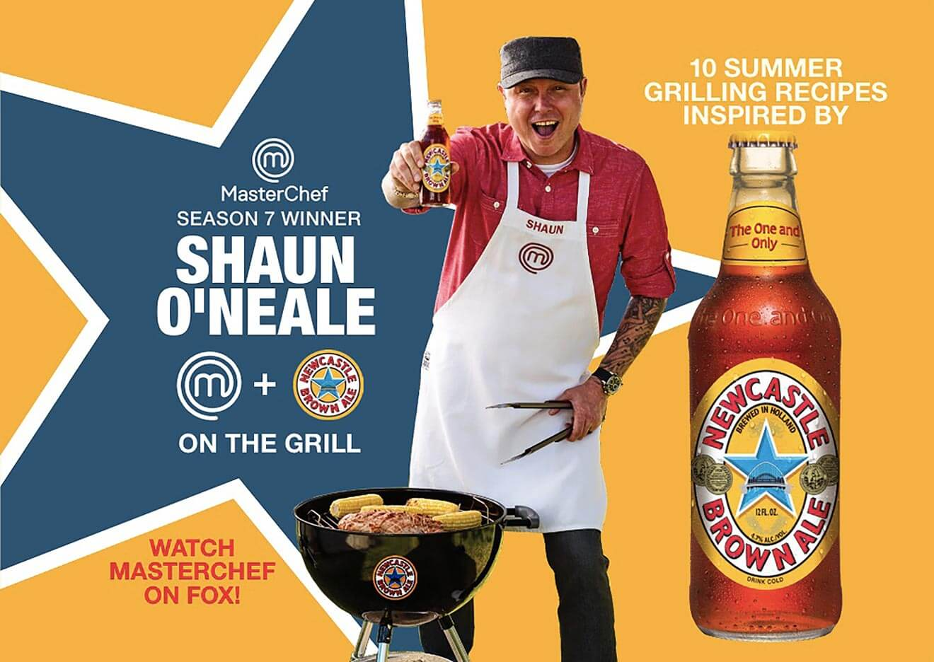 Shaun O'Neale and Newcastle Brown Ale