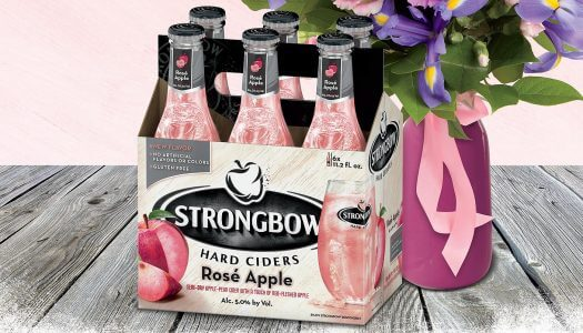 Strongbow Offers Apple Rosé and a Bouquet for Mother's Day