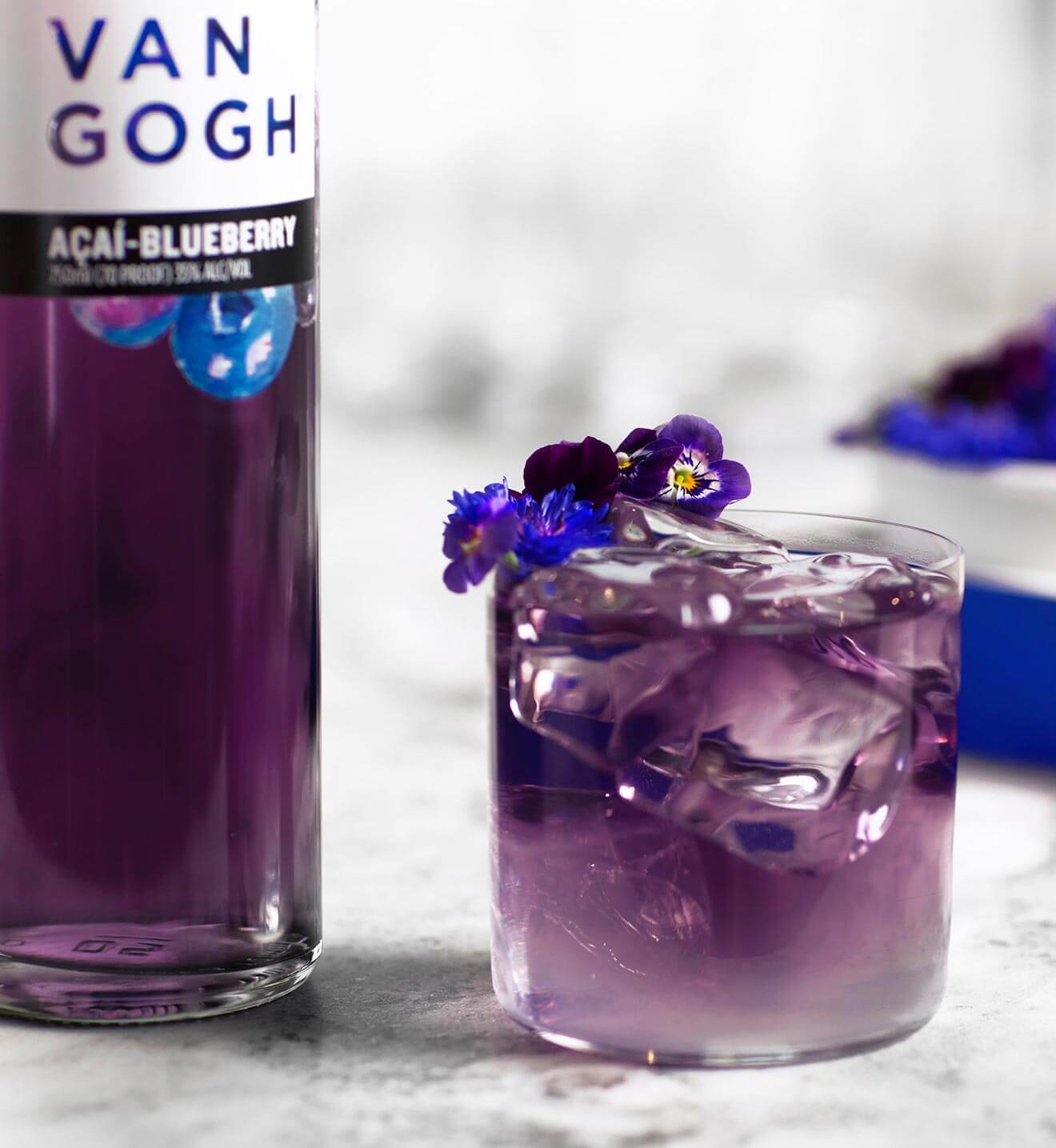 The Ultraviolet cocktail