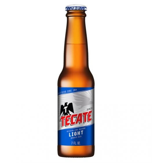 Tecate Light 7 oz. Pack, bottle, featured image