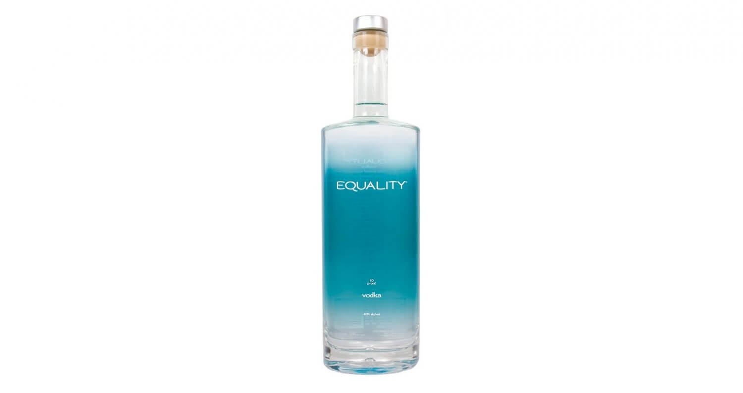 Equality Vodka, bottle on white, featured image