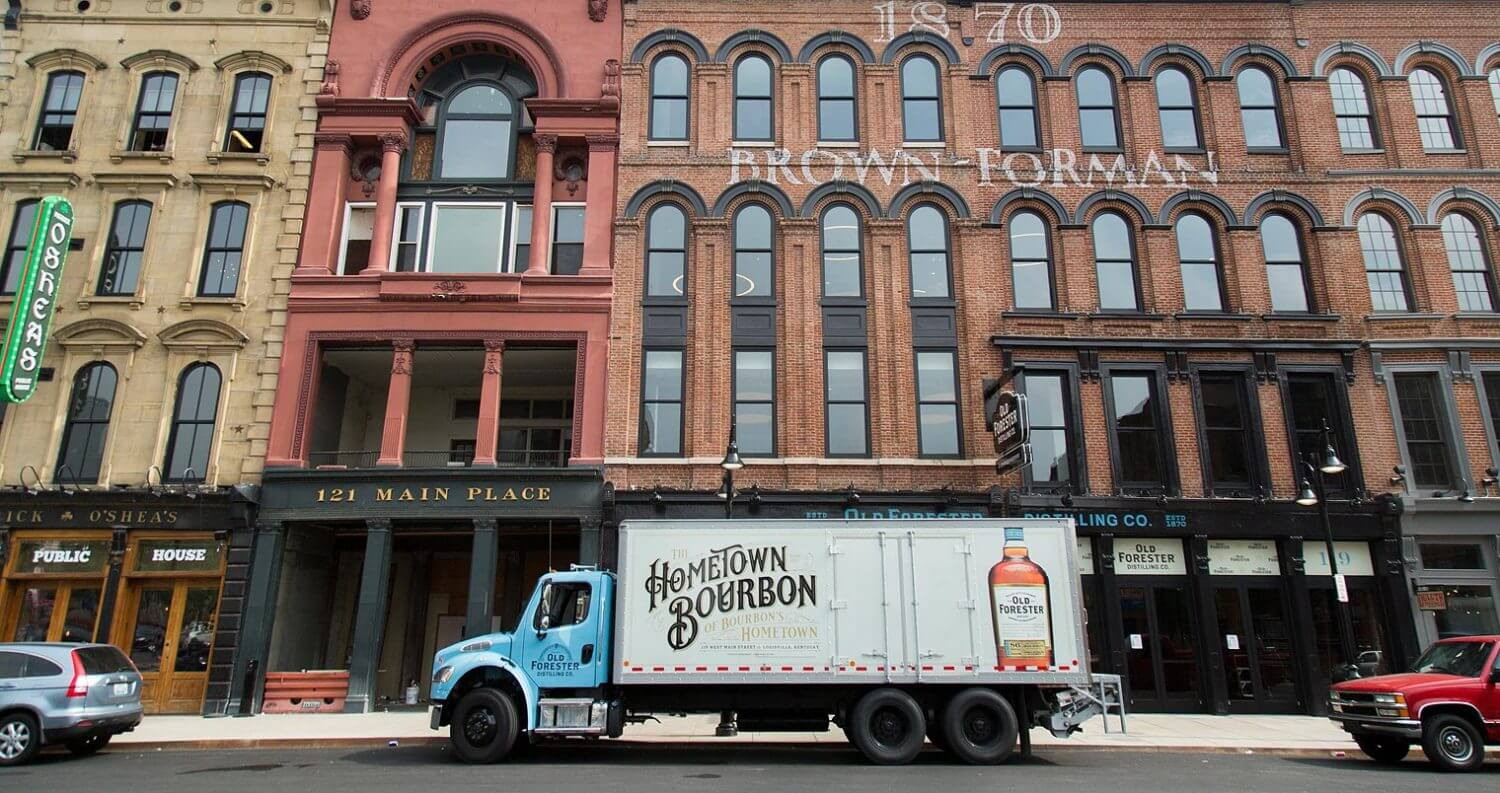 Old Forester Returns to Whiskey Row, featured image