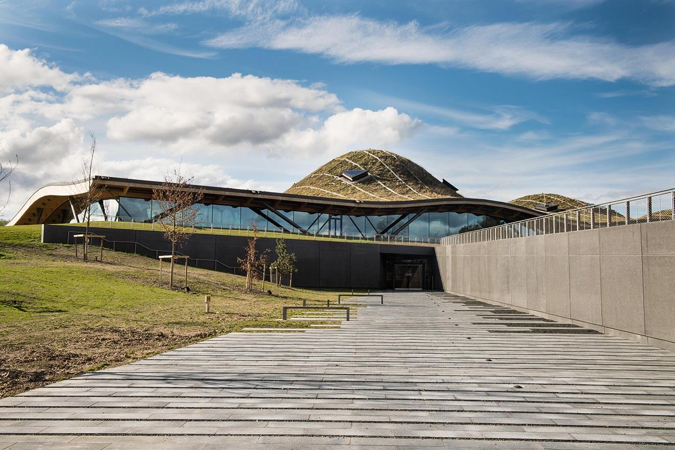 The Macallan New Distillery, front entrance