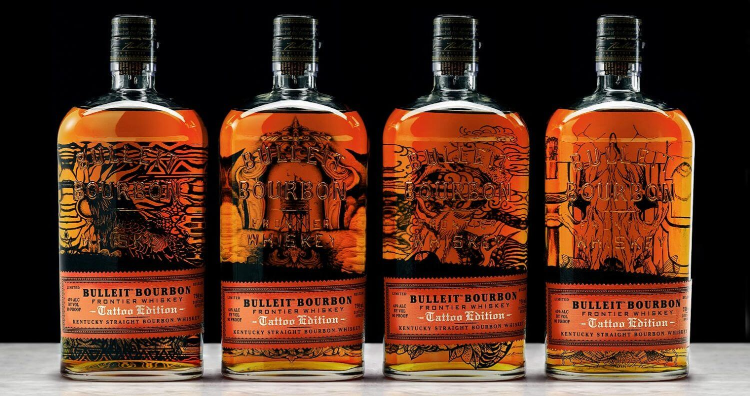 Bulleit Bourbon Limited Edition Tattoo Bottle Series, featured image