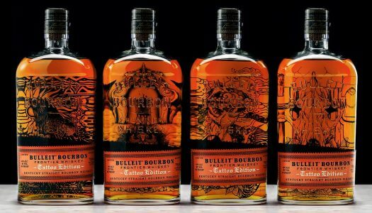 Bulleit Bourbon Launches Limited Edition Tattoo Bottle Series