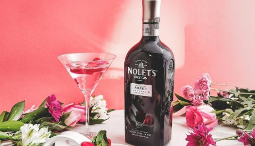 Must Mix: NOLET'S Rose Gimlet Raindrop Cake