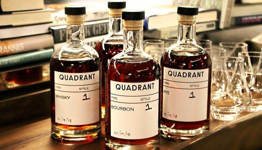 Quadrant Bar & Lounge D.C. Launches Revolutionary Sound-Aged Spirits Program