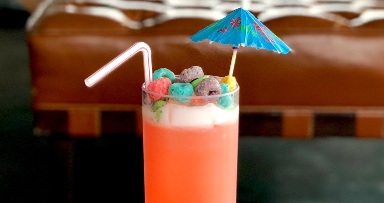 Toucan Sam Fruit Loops Cocktail, featured image