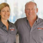 Vienna and Pete Barger of Southern Distilling Co., featured image