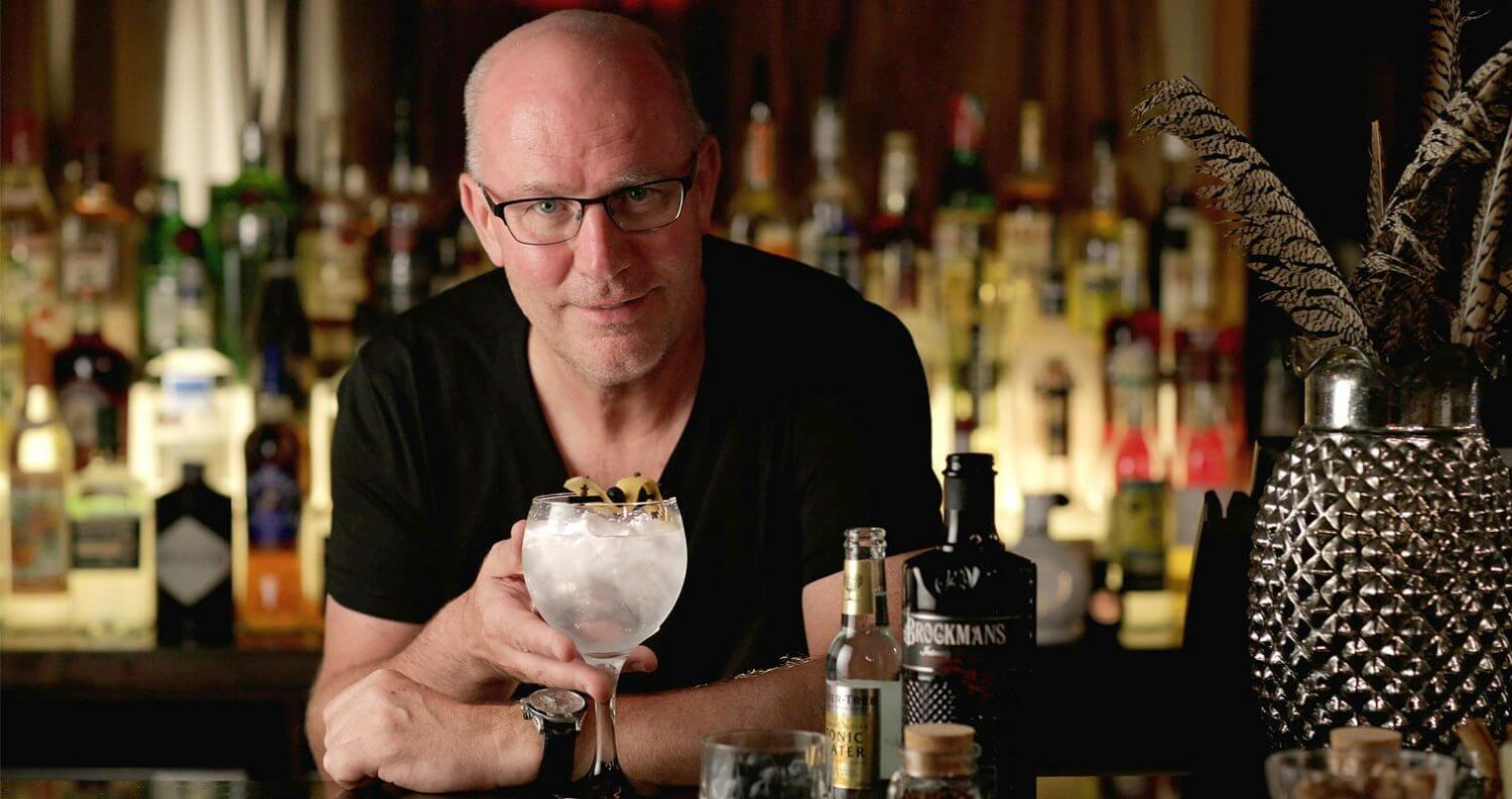 Bob-Fowkes-Co-Founder-and-Marketing-Director-Brockmans-Gin-featured image
