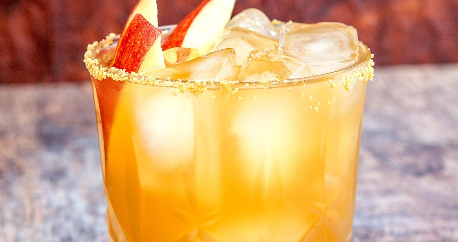boulard apple fashioned cocktail, featured image