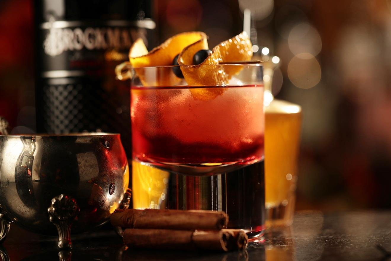 Brockmans Dark Night Negroni