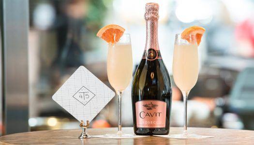 Celebrate National Prosecco Day with a Frozen Cavit Grapefruit Frosecco