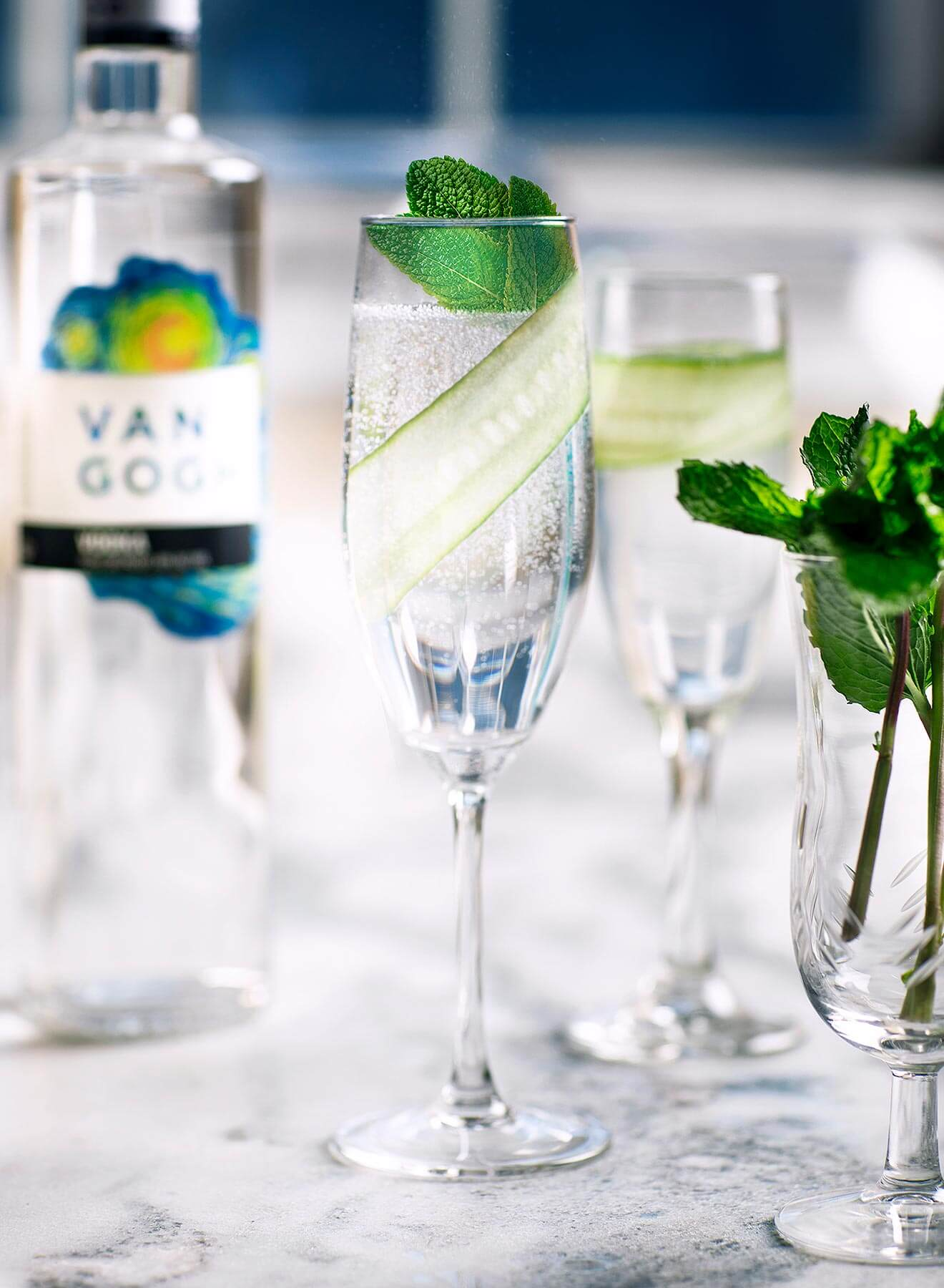 Cucumber Mint Fizz