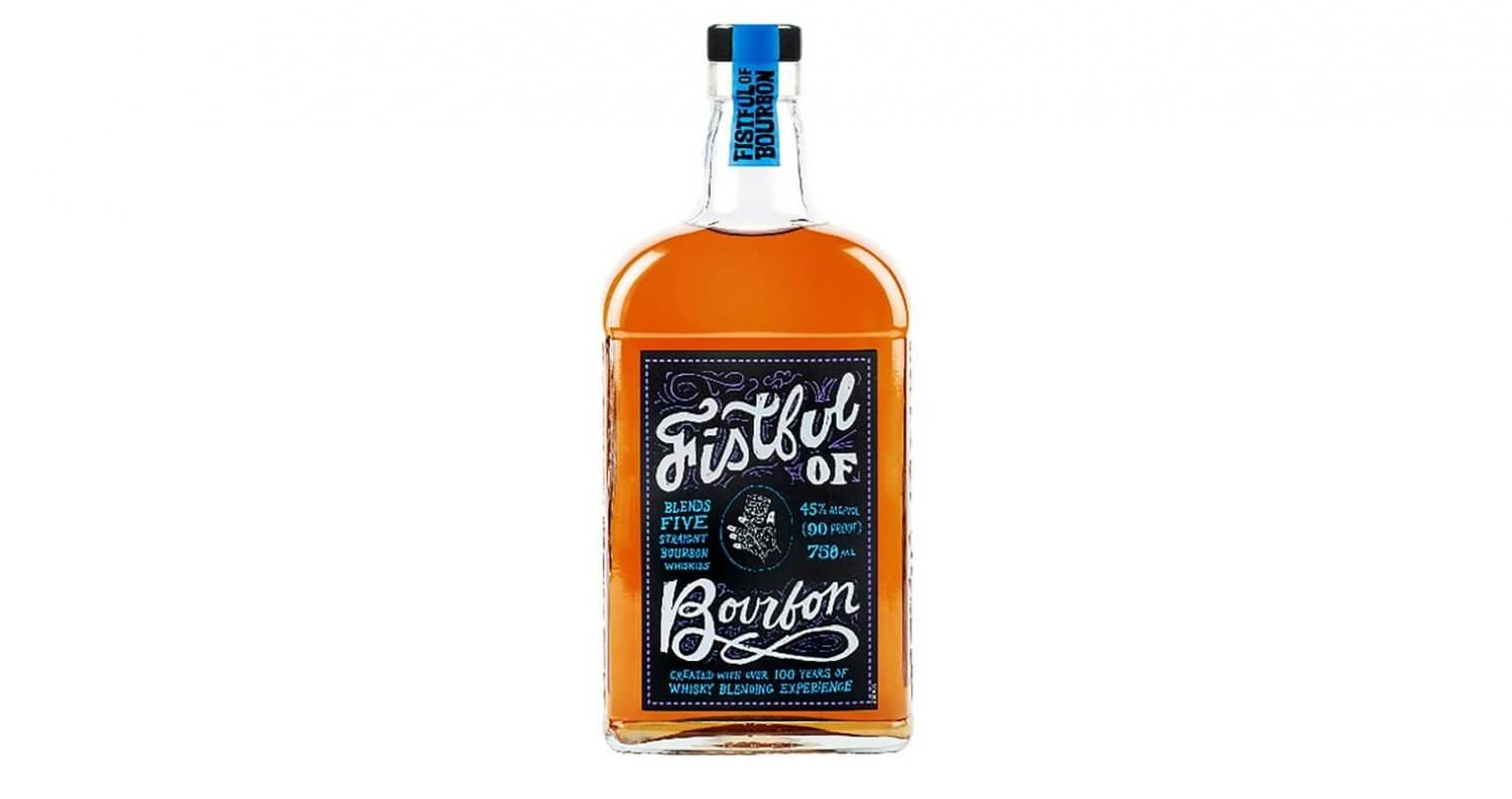 Fistful of Bourbon, bottle on white, featured image