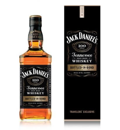Jack Daniel's Bottled-in-Bond, bottle and package on white, featured image