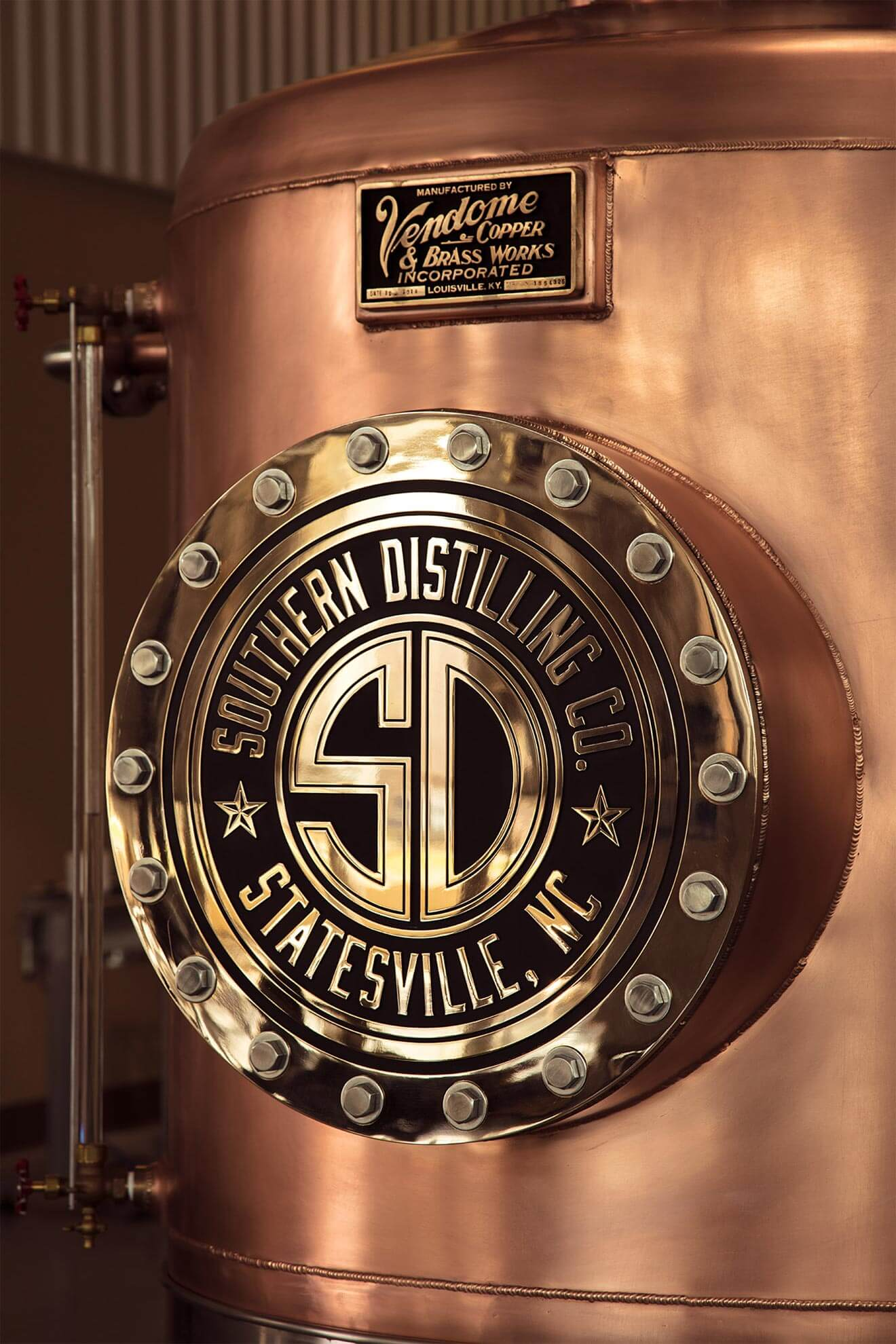 Southern Distilling Company Copper Doubler