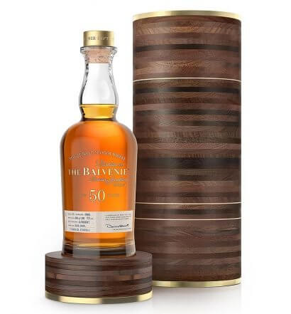 The Balvenie Fifty Marriage 0962, bottle and wooden package, featured image