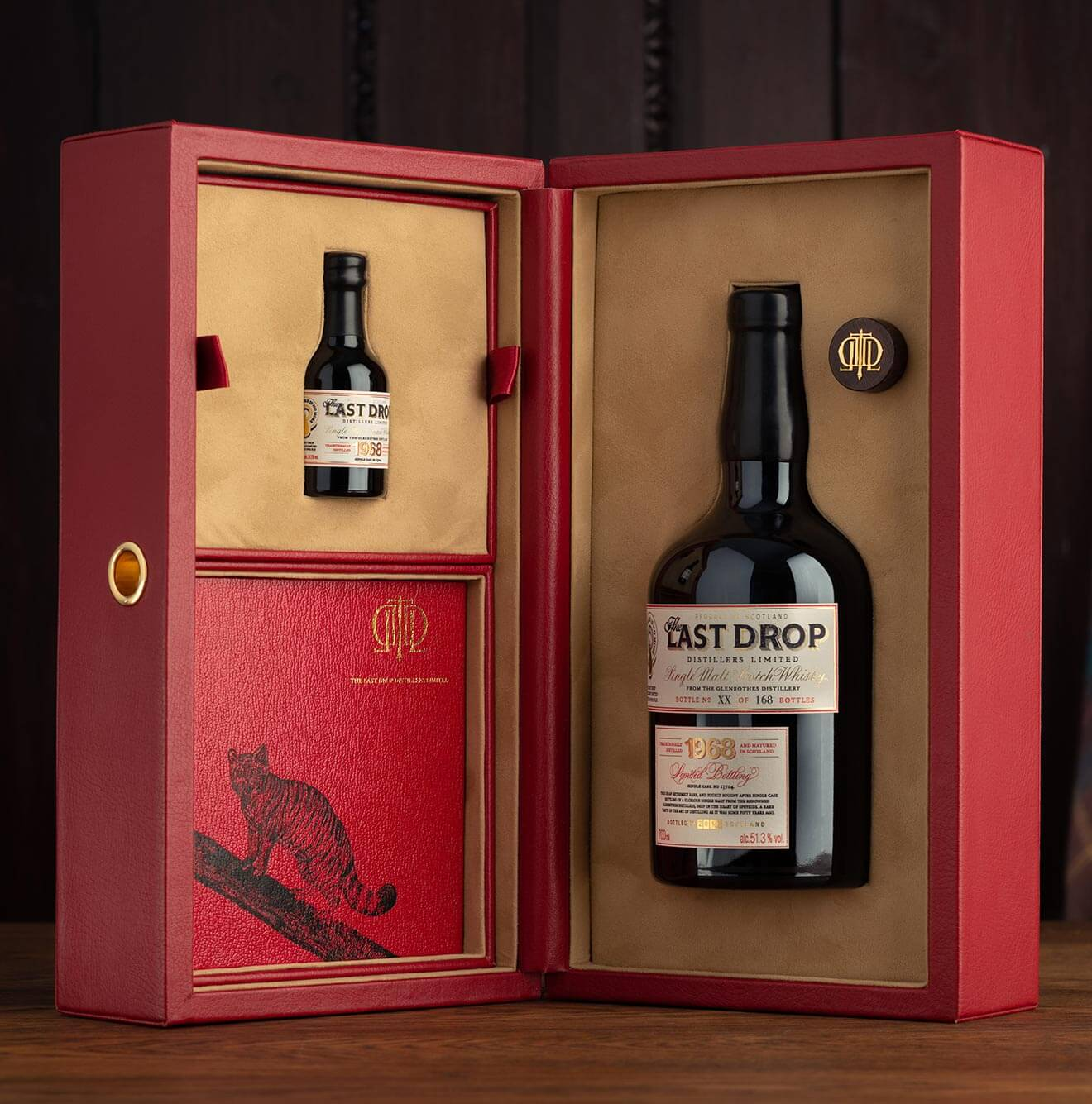 The Last Drop Distillers Exquisite 50 Year Old Single Malt