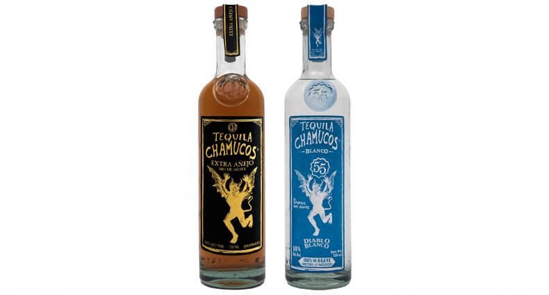 Chamucos Tequila New Expressions, bottles on white, featured image