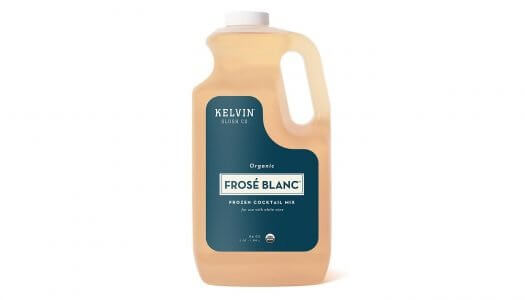 Kelvin Slush Co. Launches Organic Frosé Blanc