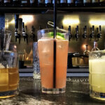 Low Calorie Cocktails at Dutch Fred's New York City, cocktails on bar, featured image